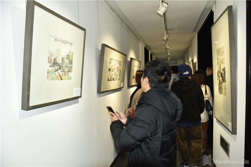 三人行—范扬 何加林 贾广健中国画展杭州收官
