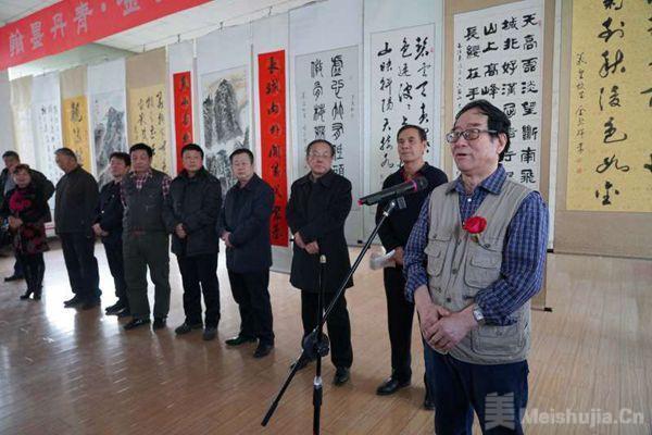 金壁辉:书画展在新疆乌鲁木齐举办