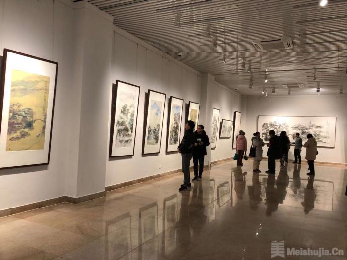 画家王福元60余幅作品展出 展期至1月18日
