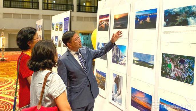 中国青海民族文化艺术展在斯里兰卡首都举行