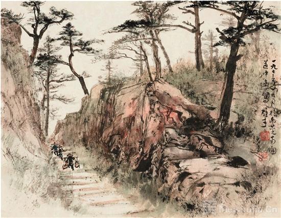 黎雄才的寻源之路在北京画院美术馆展出