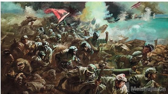 红色印记——纪念遵义会议85周年美术作品展