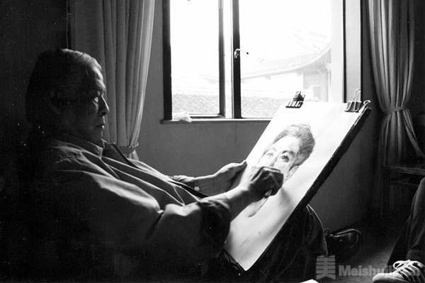 油画家廖炯模辞世 享年89岁
