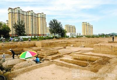 汉代县城遗址将变公园开放