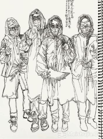 疫情期间的绘画日记