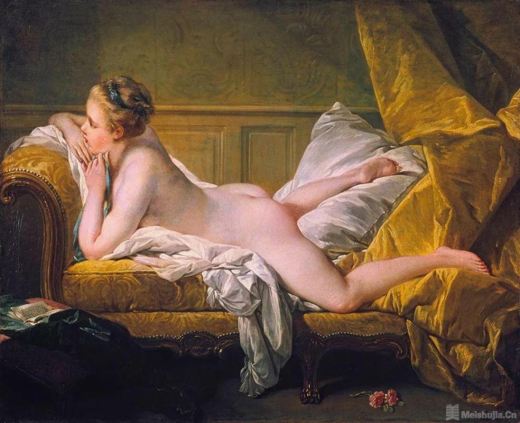 弗朗索瓦 • 布歇《躺着的少女》