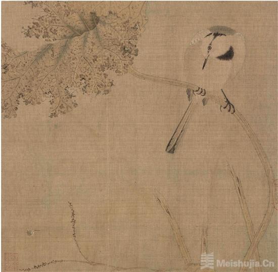 一幅工笔花鸟画,是怎样炼成的