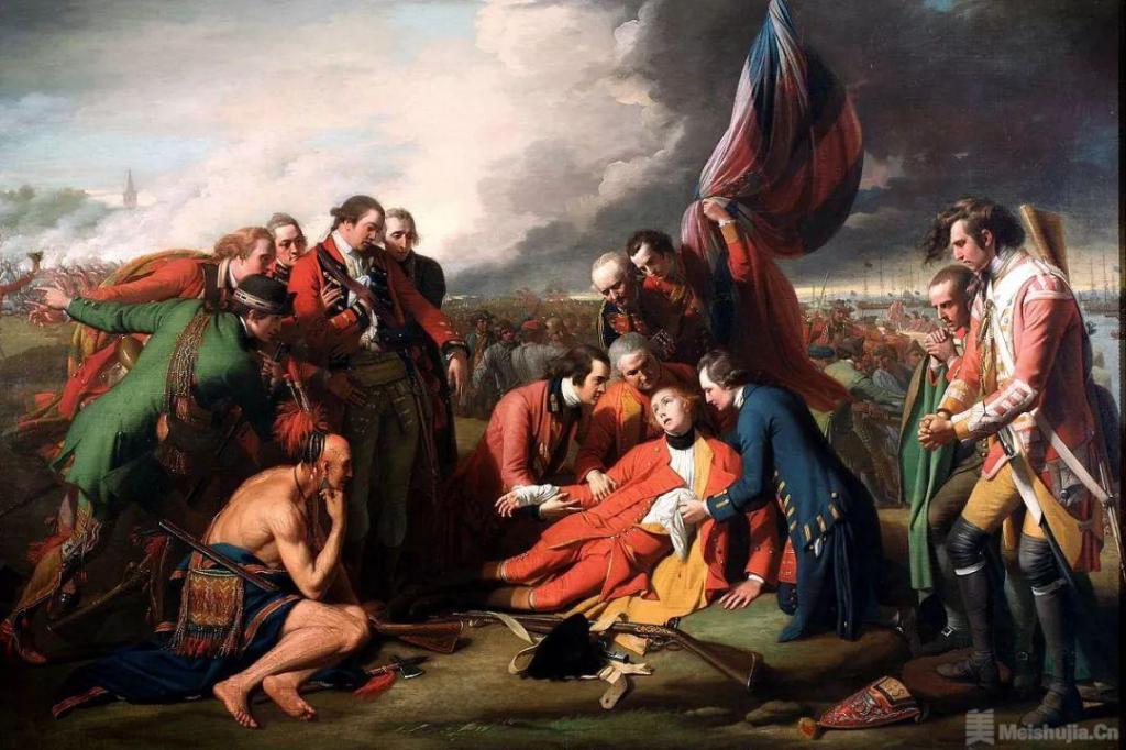 本杰明 • 委斯特《乌尔夫将军之死》