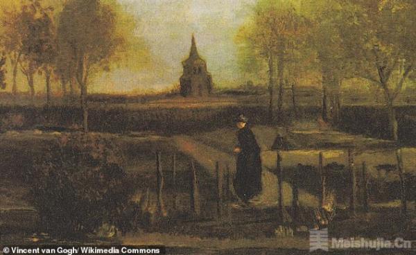 梵高生日当天,他的画作《春天花园》被盗!