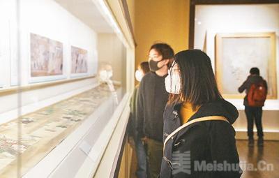 上海博物馆恢复开放 感受中日文化交流的动人画卷