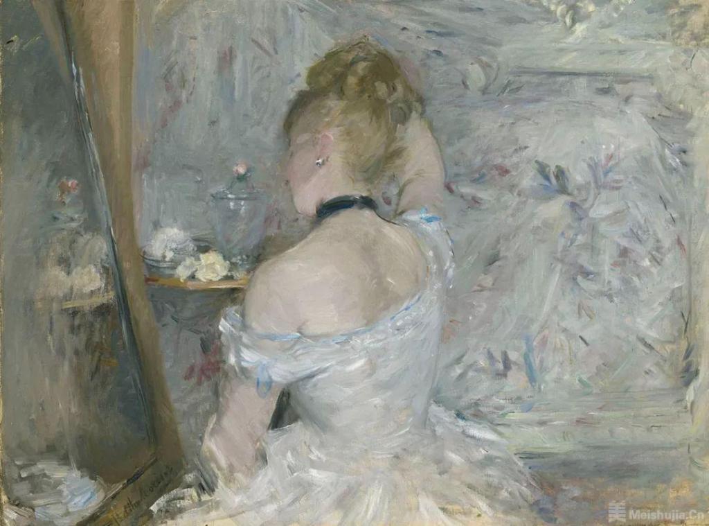 贝尔特 • 莫里索《梳妆台前的女子》