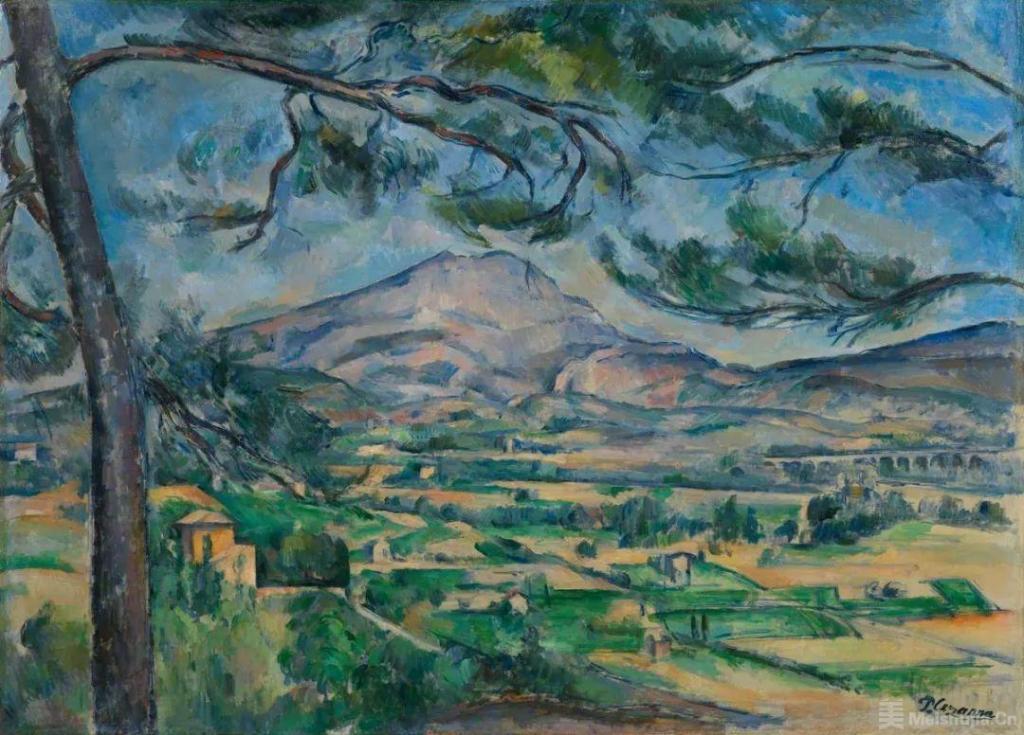 保罗 • 塞尚《圣维克多山》