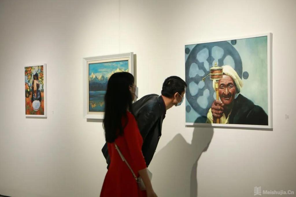 """""""遇见西藏""""艺术作品展亮相北京朗空美术馆"""