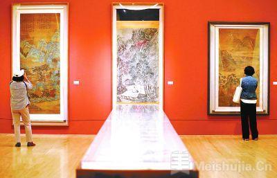 中国美术馆时隔110天恢复开馆 本周末观众预约已满