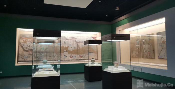 北方草原汉墓壁画珍品展在洛阳博物馆开展