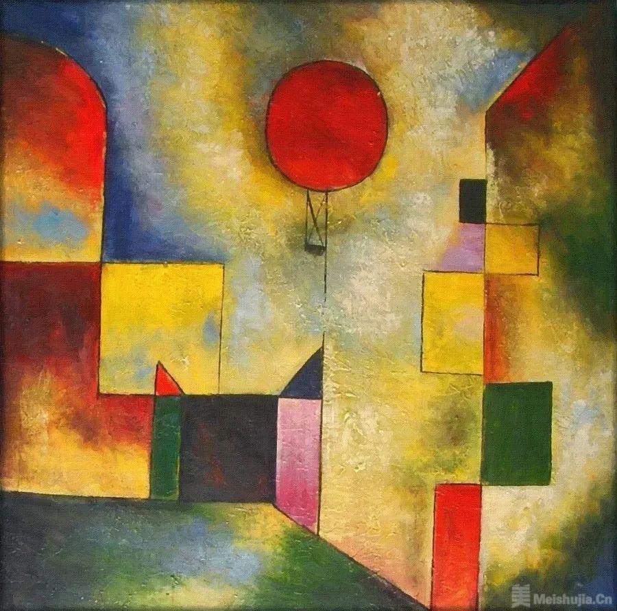 保罗 • 克利《红气球》