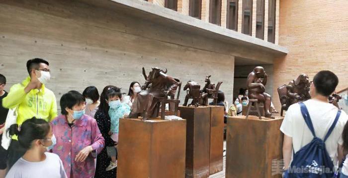80余幅中外当代艺术家作品亮相山西太原