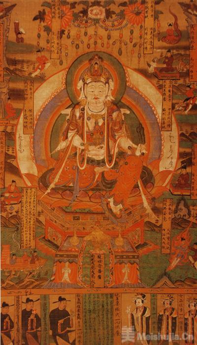 四川省博物院藏敦煌绘画品