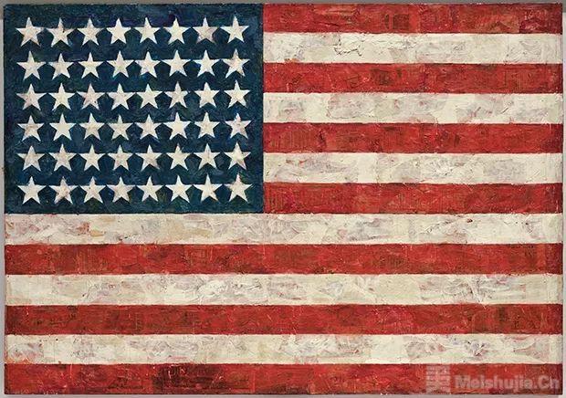 贾斯培 • 琼斯《旗帜》