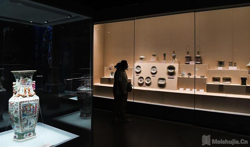 清代外销艺术品展南海博物馆开展