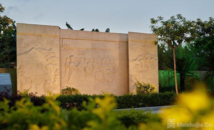 """广州南沙星海故里纪念馆""""升级"""" 新增多处雕塑和音乐体验"""