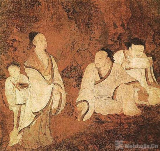 生动庄严的艺术时代承前启后的隋代人物画