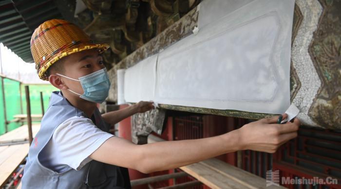 专家讲述:沈阳故宫古建筑油饰彩画这样保护修复