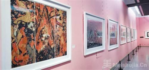 第二十三届全国版画作品展辽宁巡展在连开展