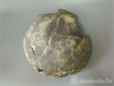 """广汉联合遗址发现中国最早""""龙凤呈祥""""图案陶器"""