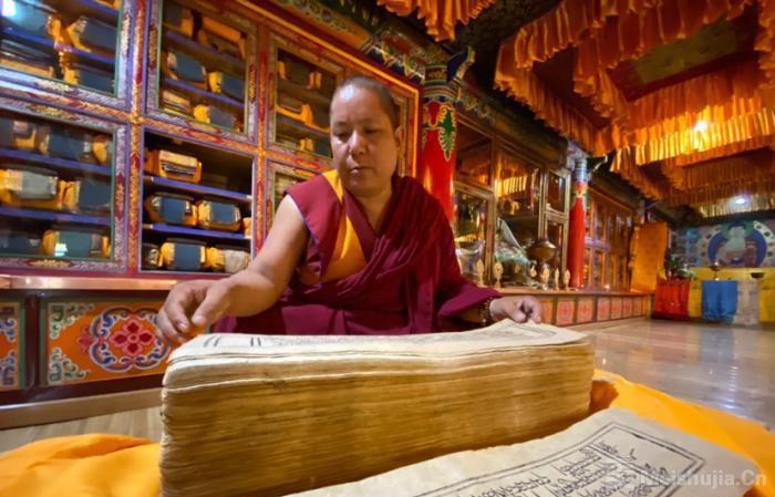 探访珍稀藏文大藏经《纳塘新版·甘珠尔》