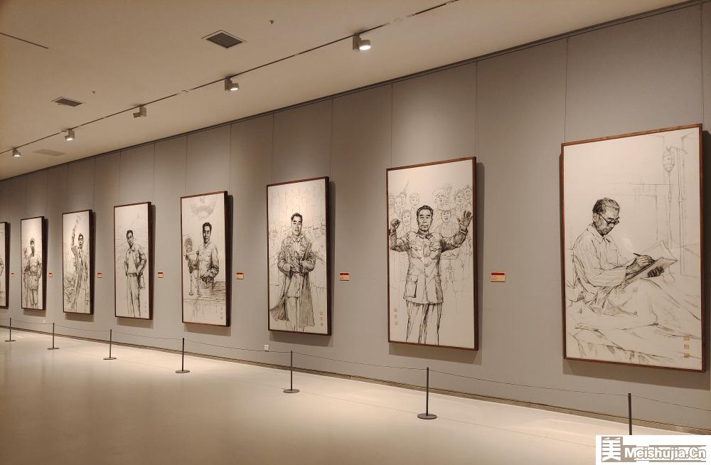 李世刚、李世东、刘海龙绘画作品展在山东美术馆开展