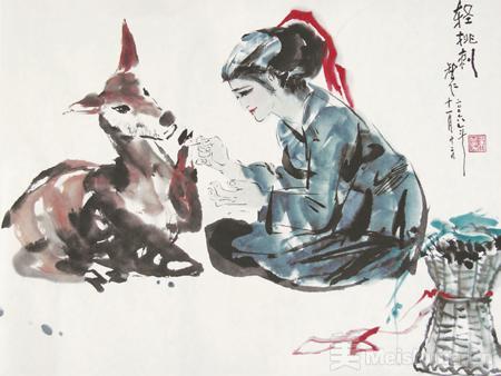 美的使者——画家韦智仁印象