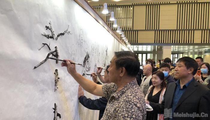 """东北亚区域各国画家共绘""""冰雪丝路图"""""""