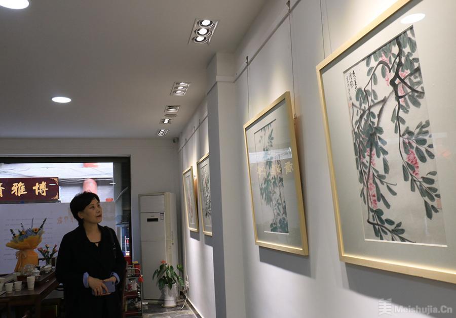 """""""四十而立""""——西美96级国画同学展开幕"""