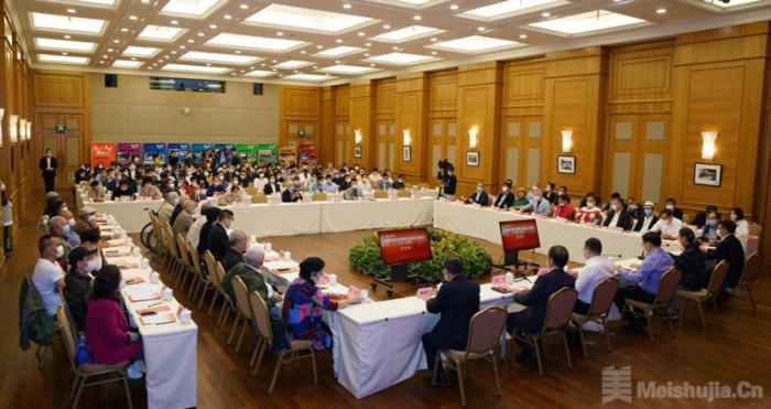 上海市文联庆祝成立70周年 新老艺术家展望文联工作新发展