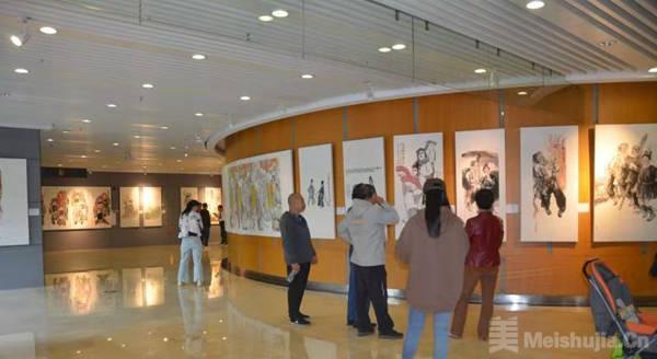 19种湖南戏曲全都有!湖南民间戏曲主题绘画创作展开幕