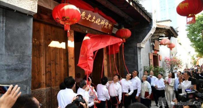 闽台历史文化研究院揭牌成立 打造两岸智库开放合作平台