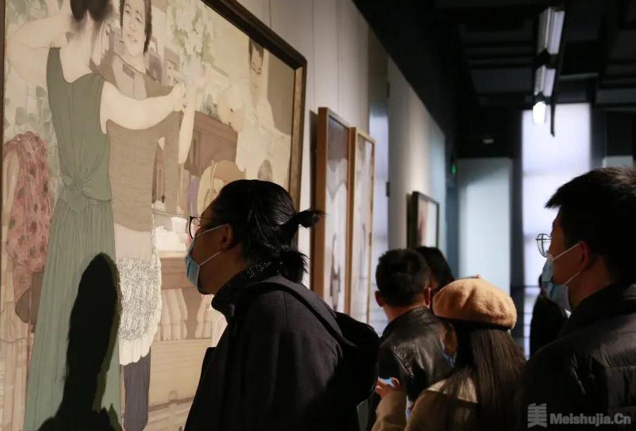 2020天津美术学院教师作品双年展在天津美术学院美术馆开幕