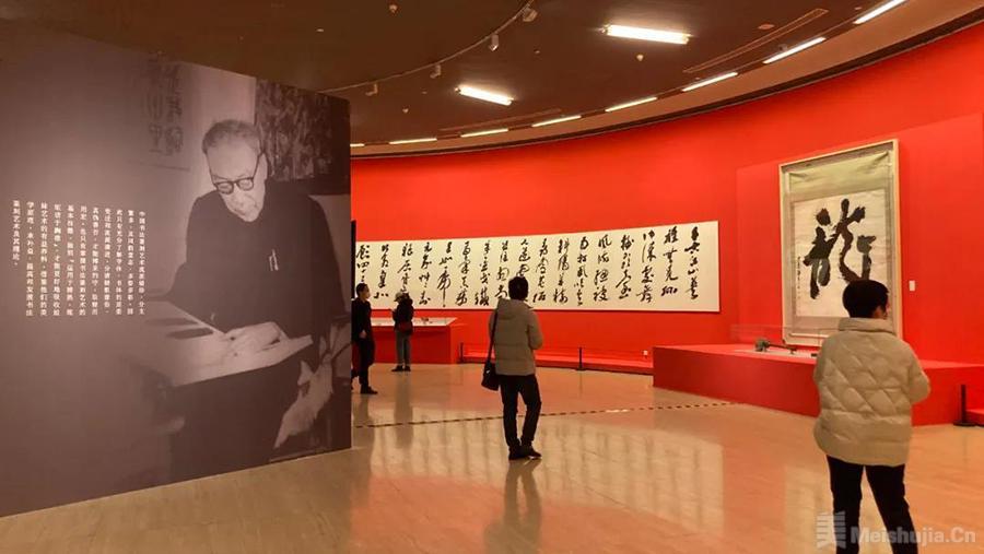 纪念沙孟海诞辰120周年书法篆刻艺术大展亮相中国美术馆