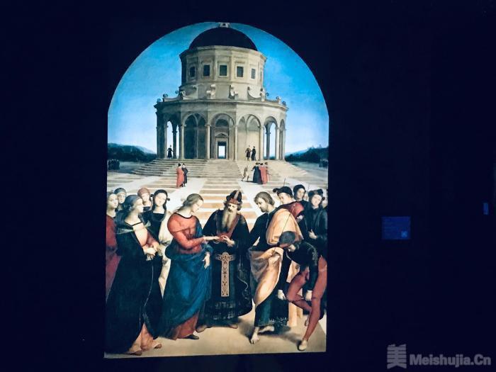 拉斐尔艺术展开幕 数字化呈现36幅代表作品