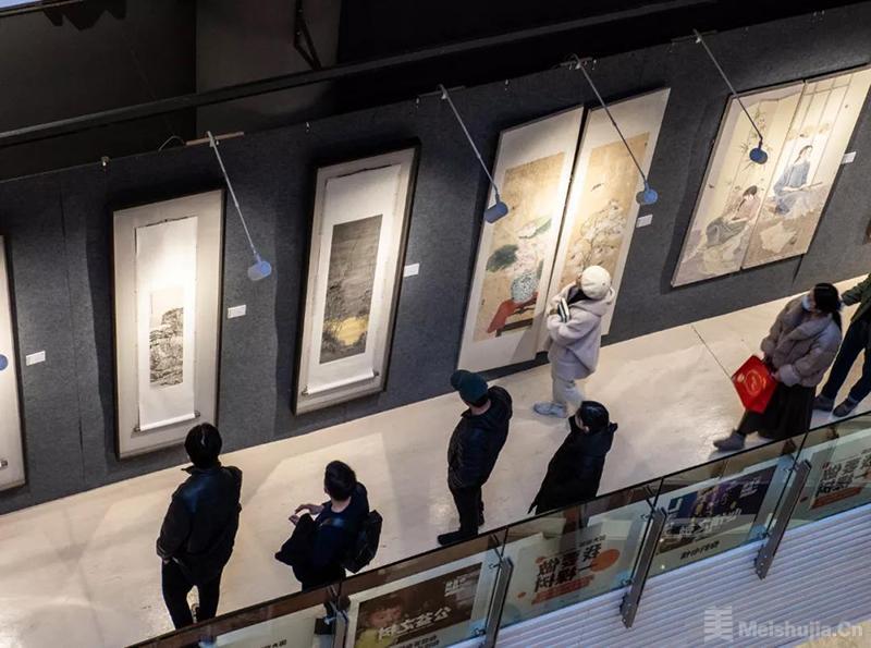 """浙江大学第六回""""启真源""""书画作品学术邀请展在杭州开幕"""