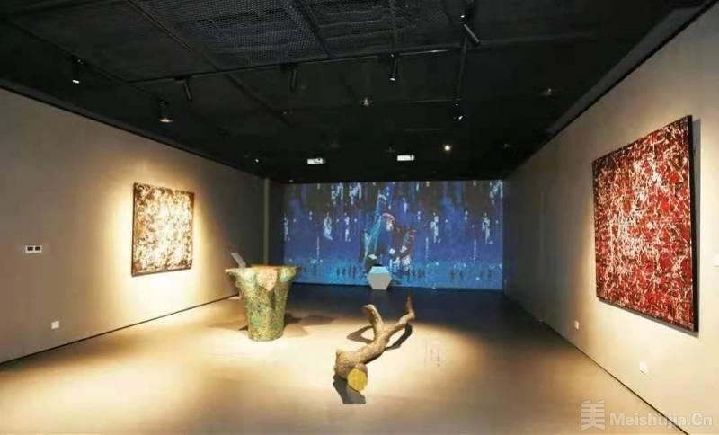 华强北博物馆开馆艺术展开启,融合艺术与科技