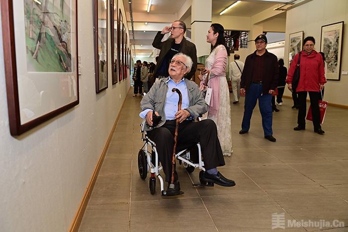 纪念海南解放70周年中国画作品展开展