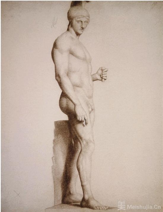 观物绘像 修拉素描作品中的视觉认知模式探究