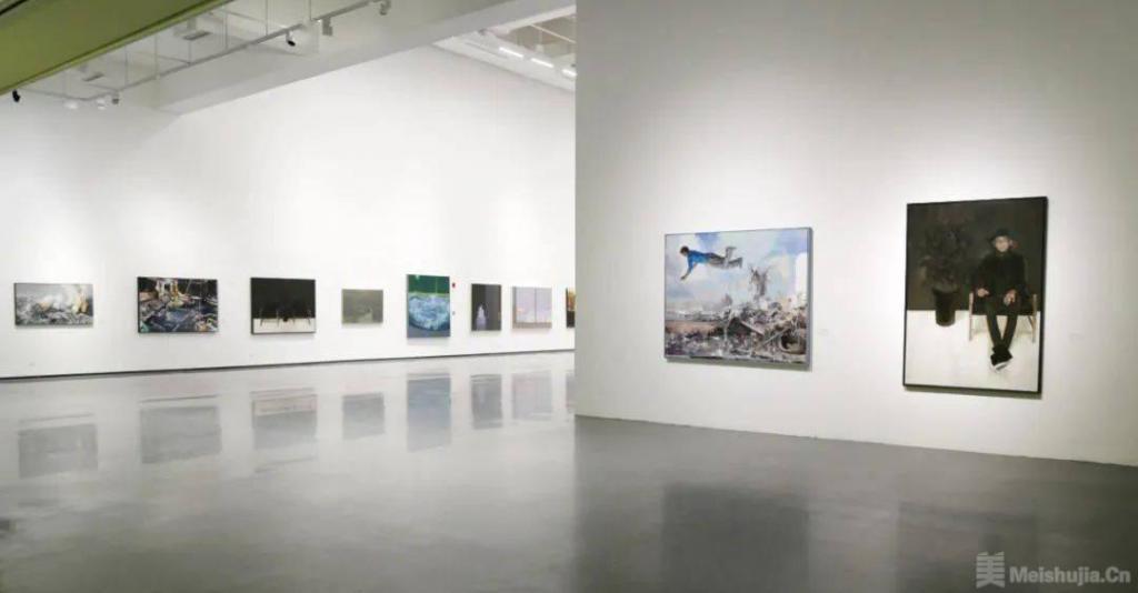 长安之音——西安青年油画展在西安美术馆展出