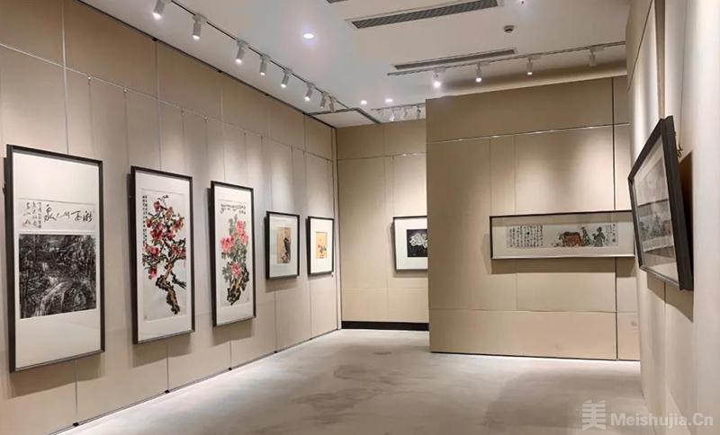 百件中国画名家作品走进中国乡村美术馆