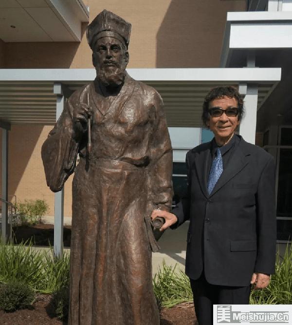 旅美雕塑艺术家王维力逝世,享年82岁