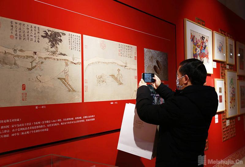 """重庆中国三峡博物馆举办""""牛气冲天""""展览"""