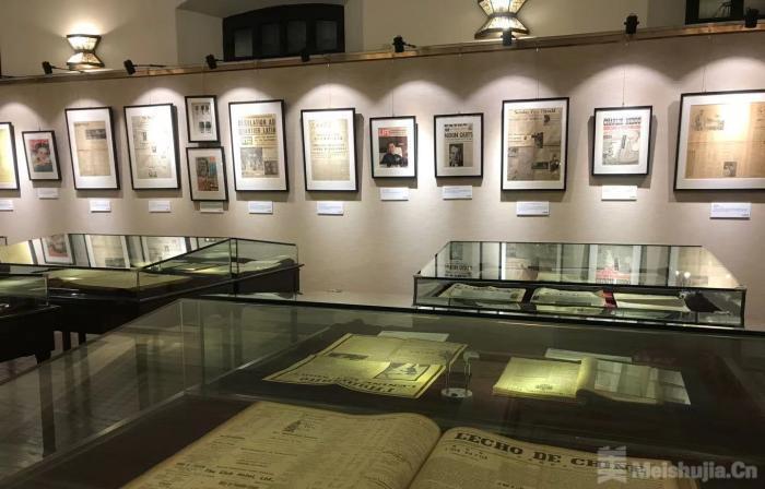 """""""历史的底稿—十七世纪以来的中外报刊珍藏展""""在上海徐家汇藏书楼开幕"""