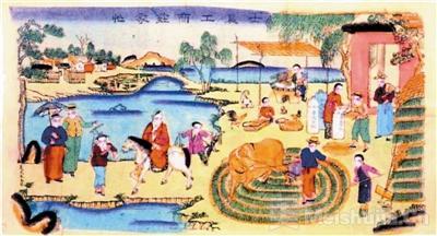 杨柳青年画业中心的转移